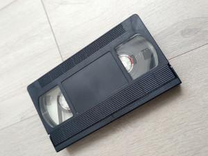 retro video tape